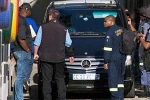 South Africa cancels arrest warrant against India-born businessman Ajay Gupta.