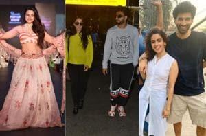 Ameesha Patel, Kiara Advani, Ranveer Singh, Sanya Malhotra and Aditya Roy Kapur spotted in Mumbai.