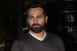 Actor Emraan Hashmi at the screening of his film Why Cheat India.