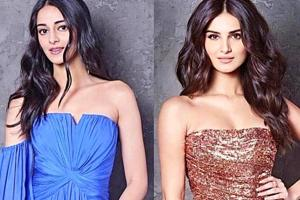 Ananya Panday and Tara Sutaria prove coordinating doesn't mean matching, exactly. See their stylish looks from the new Koffee With Karan 6 episode. (Instagram)