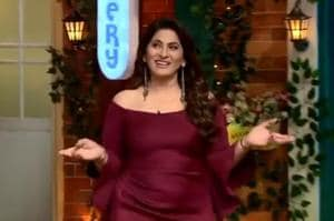 Sony TV tweeted a video clip with KapilSharma welcoming actorArchana PuranSingh on the The KapilSharma Show.