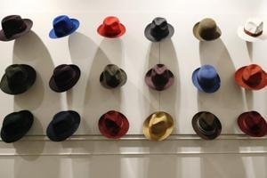 Photos: Italy's hat maker Borsalino undergoes a revamp