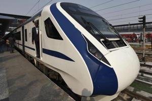 Every Indian should be proud of Train 18, feel its manufacturers. (Photo by Burhaan Kinu/ Hindustan Times)