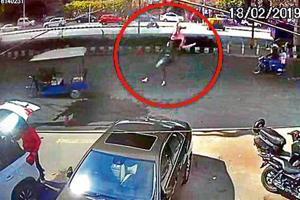 Woman falls off Vikaspuri flyover after vehicle hits bike she was riding