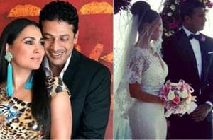 Mahesh Bhupathi and Lara Dutta are celebrating eight years of togetherness.