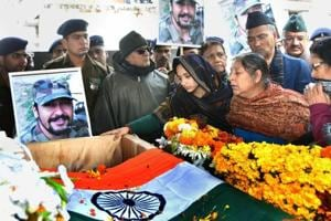 Kaul, who had left Dehradun on Monday morning, was the first to be informed about the major's death by army officials.