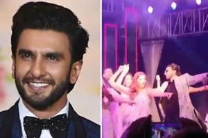 Ranveer Singh was in Udaipur for the wedding of a close friend.