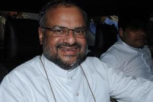 Former Jalandhar bishop Franco Mulkkal who has been accused of raping a nun, also a mother superior, 13 times between 2014 and 2016.