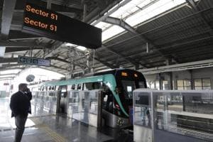 The Noida Metro has decided to allow audio-video shoot on its newly-opened Noida-Greater Noida Metro link for a fee.