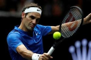 File image of Swiss tennis player Roger Federer.