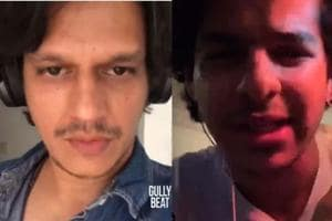 Gully Boy actor Vijay Varma recorded his own rap song, Ishaan Khatter praises him with his own rap version.