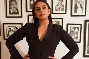 Actor Huma Qureshi is currently busy shooting her next web series.