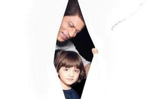 Shah Rukh Khan and son AbRam's new photo was shared by celeb photographer Avinash Gowariker.