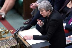 Prime Minister Theresa May travelled to Brussels again on Wednesday for talks on leaving the EU on March 29.