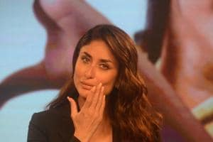Kareena Kapoor Khan at the launch of the Swasth Immunised India campaign.