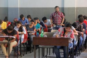 Board exams 2019  : For the first time, the MP Class 10 and 12 board exams, conducted by the Madhya Pradesh Board for Secondary Education, will be telecast live from two districts to the officials who want to keep tabs on how exams are going on, said officials.