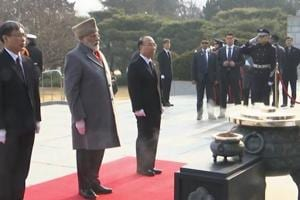 PM Modi visits cemetery in Seoul, pays tribute to soldiers killed in Korean...