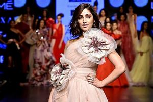 Gauri and Nainika, who presented their summer/resort 2019 collection at Lakme Fashion Week had actor Yami Gautam as their showstopper. (Instagram)
