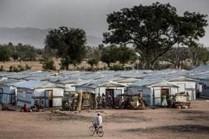 Photos: Boko Haram displaced feel neglected amid Nigeria election fever