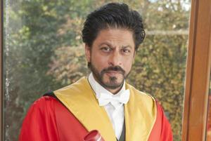 Shah Rukh Khan receives Honorary Degree from University Of Edinburgh on 15th October 2015