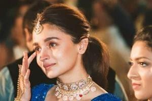 Alia Bhatt attended the wedding of her close friend Devika Advani.