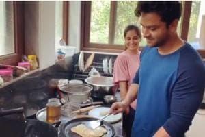 Bigg Boss 12 winner Dipika Kakar gets a romantic surprise from husband Shoaib Ibrahim on first wedding anniversary. See pics