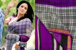 Sridevi's saree being auctioned on her death anniversary, bid reaches 1.30 lakh