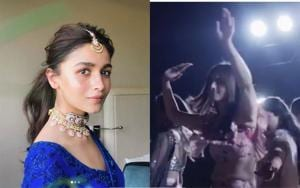 Alia Bhatt recently attended her friend's wedding in Delhi.