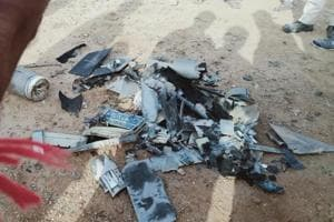 Pakistan drone shot down near the International Border in Kutch district of Gujarat, police sources said