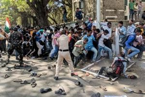 #puneinpixels: City police clash with 11,000 deaf protestors, politicians across parties get involved
