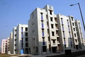 Nearly 10,000 flats were allotted in the DDA housing scheme 2014 in Dwarka, Narela, Rohini and Siraspur.