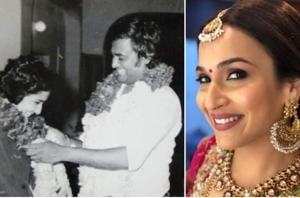 Soundarya Rajinikanth shared a picture of her parents -- Rajinikanth and Latha -- from their wedding day on Twitter.