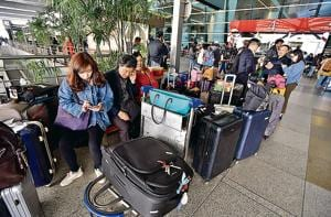 The closure forced 47 flight cancellations, including 25 departures and 22 arrivals. The Delhi airport operator said four flights destined for other airports were also diverted to Delhi, two of them domestic and two international.