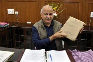 Delhi deputy CMManish Sisodia presented the budget on Tuesday.