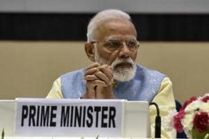 India's Prime Minister Narendra Modi met top officials to review the Indo-Pak situation.