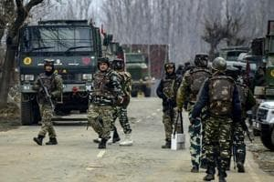 Two Jaish-e-Mohammed terrorists were killed in an encounter in Jammu and Kashmir's Shopian on Wednesday morning.