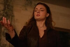 Sophie Turner as Jean Grey in a still from the Dark Phoenix trailer.