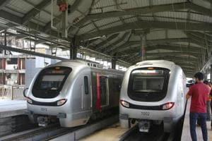 Mumbai Metro Rail  onRed Alert