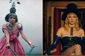 Sophie Turner, Priyanka Chopra take us back in time with their classic-era fashion in Sucker video.