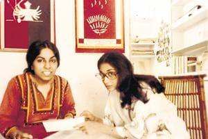 (L-R)  Urvashi Butalia and Ritu Memon founded Kali for Women, India's first feminist publishing house in 1984.