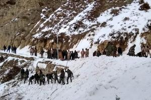 Operation underway to rescue  jawans trapped in snow after an avalanche hit them in Namgya region of Kinnaur district in Himachal Pradesh.