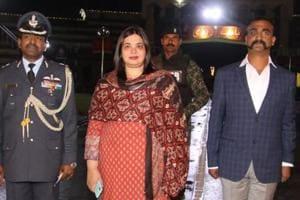 IAF pilot Wing Commander Abhinandan Varthaman was waiting to cross over to India at the Attari-Wagah border on Pakistan side on Friday.