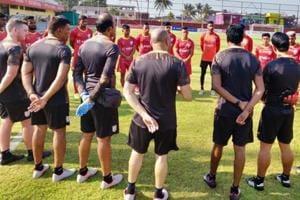 India U-23 national team camp in Goa.