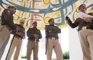 Rajasthan Police in Sirohi district are investigating the theft of  seven antique guns from the Raj Bhawan in Mount Abu.