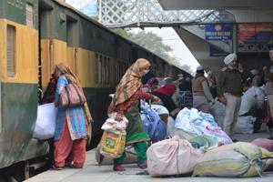 Of the 176 passengers who arrived at Attari, 162 were Indians, a customs official said.