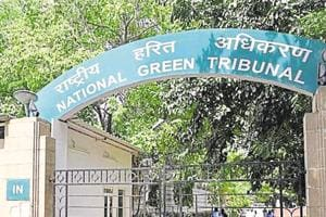 The National Green Tribunal (NGT) has directed the Central Pollution Control Board (CPCB), the Election Commission of India (ECI) and the Union environment ministry to consider whether to ban the use of campaigning materials made of plastic in the run-up to the Lok Sabha elections. . (Photo by Arvind Yadav/ Hindustan Times)