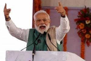 Addressing a rally in Amethi on Sunday, PM Modi had said the work at the ordnance factory there had been delayed and the number of jobs promised had not been provided to the local people.