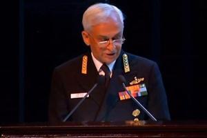 Navy chief Admiral Sunil Lanba warns of terror attacks via sea