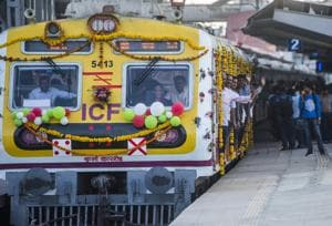 Due to a signal failure at Parel terminus , services were disrupted on Monday.