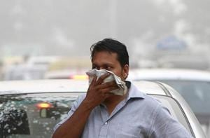 Smog levels spike during winter in Delhi, when air quality often eclipses the World Health Organization's safe levels.